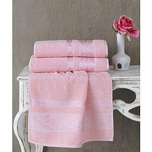 "Полотенце махровое ""KARNA REBEKA"", светло-розовый"