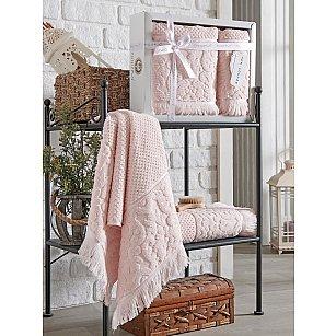 Комплект махровых полотенец Philippus Velovis (50*90; 70*140), розовый