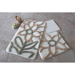Набор ковриков для ванной DO&CO NATUREL (60*100; 40*60), натуральный