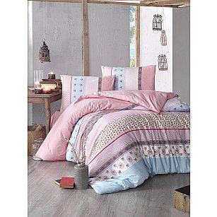 """Комплект постельного белья """"RANFORCE JUSTO"""", розовый"""