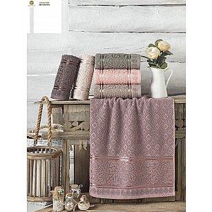 Комплект махровых полотенец PHILIPPUS LUX COTTON MOTTYA, 50*90 см - 6 шт
