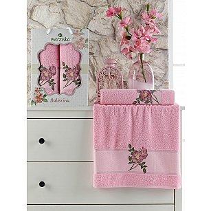 Комплект махровых полотенец MERZUKA BALLERINA (50*90; 70*140), розовый