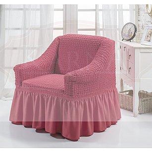 """Чехол для кресла """"BULSAN"""", грязно-розовый"""