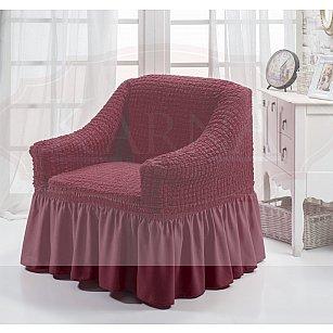"""Чехол для кресла """"BULSAN"""", бордовый"""