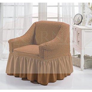 """Чехол для кресла """"BULSAN"""", горчичный"""