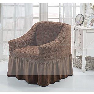 """Чехол для кресла """"BULSAN"""", коричневый"""