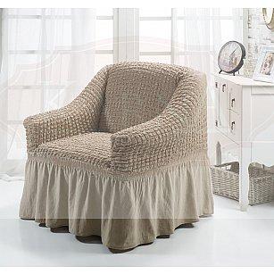 """Чехол для кресла """"BULSAN"""", кофейный"""