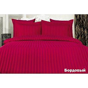 Комплект постельного белья KARNA PERLA Бамбук (2 спальный), бордовый