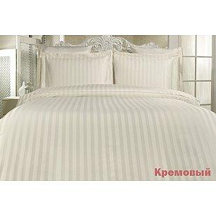 Комплект постельного белья KARNA PERLA Бамбук (2 спальный), кремовый