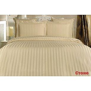 Комплект постельного белья KARNA PERLA Бамбук (2 спальный), песочный
