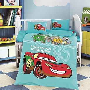 КПБ сатин DO&CO CAR (Новорожденный)
