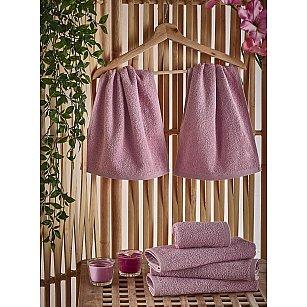 """Салфетка махровая """"KARNA PETEK"""", грязно-розовый, 30*50 см"""