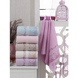 Комплект махровых полотенец TWO DOLPHINS AYSIRA, 50*90 см - 6 шт