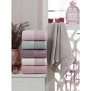 Комплект махровых полотенец TWO DOLPHINS ELA, 50*90 см - 6 шт