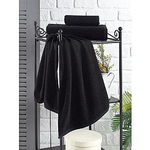"""Полотенце кухонное махровое """"KARNA EFOR"""", черный, 40*60 см"""