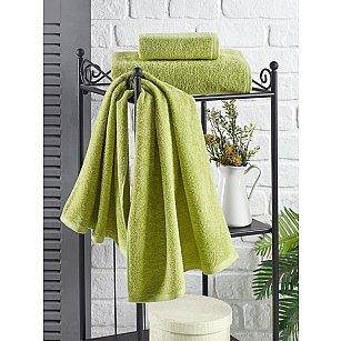 """Полотенце кухонное махровое """"KARNA EFOR"""", зеленый, 40*60 см"""