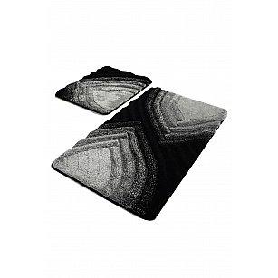 Набор ковриков для ванной DO&CO STELLA (60*100; 40*60), антрацит