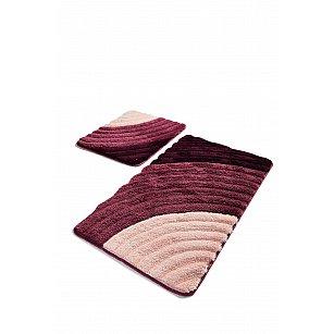 Набор ковриков для ванной DO&CO WELL (60*100; 40*60), фиолетовый