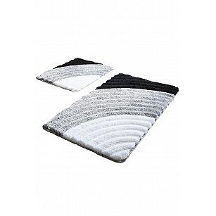 Набор ковриков для ванной DO&CO WELL (60*100; 40*60), серый