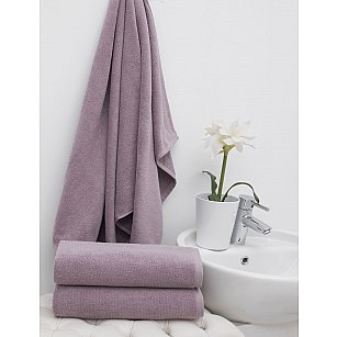 Комплект махровых полотенец PHILIPPUS VIZYON, лиловый, 50*90 см - 12 шт