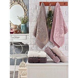 Комплект махровых полотенец TWO DOLPHINS ERIN, 50*90 см - 6 шт