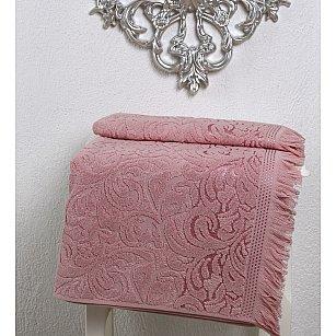 """Полотенце махровое """"KARNA ESRA"""", розовый"""