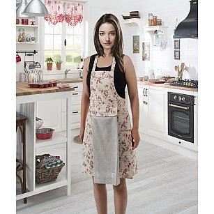 """Комплект для кухни """"KARNA"""" с салфеткой, серый"""