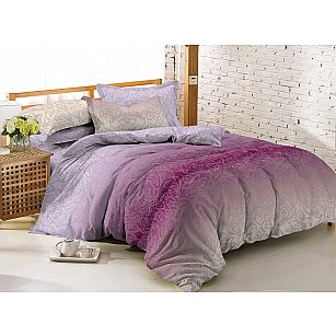 КПБ мако-сатин печатный Grade (1.5 спальный), многоцветный