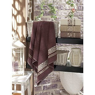 Комплект бамбуковых полотенец DO&CO CAMELLIA, 50*90 см - 4 шт