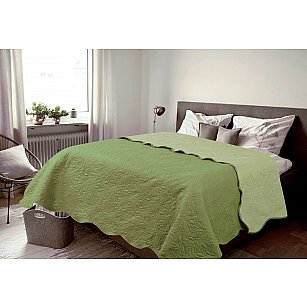 Покрывало Multi Amore Mio Alba, зеленый, 160*200 см