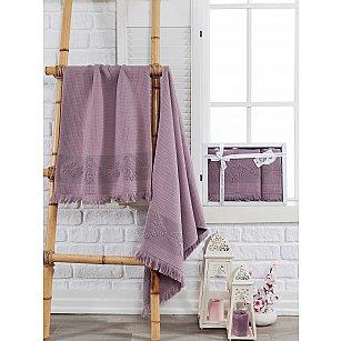 Комплект махровых полотенец PHILIPPUS AHUSE (50*90; 70*140), баклажан