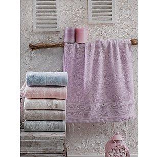 Комплект махровых полотенец TWO DOLPHINS LOUISE, 50*90 см - 6 шт
