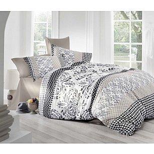 Комплект постельного белья ALTINBASAK RISHA Сатин (2 спальный), бежевый