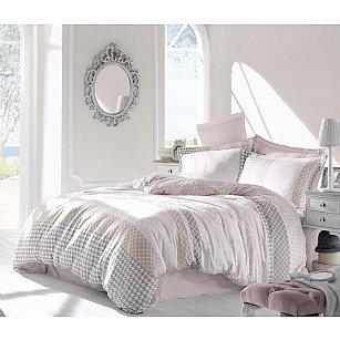 Комплект постельного белья ALTINBASAK RISHA Сатин (2 спальный), розовый