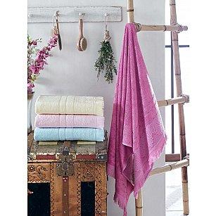 Комплект бамбуковых полотенец DO&CO LAVENDER