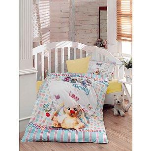 КПБ Ранфорс для новорожденных Dantela Vita Messy (Новорожденный)