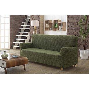 "Чехол для дивана ""KARNA ROMA"" трехместный, зеленый"