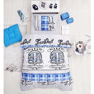 """КПБ """"RANFORCE MOLLY"""" (1.5 спальный), голубой"""