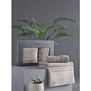 "Комплект из 2-х полотенец бамбук ""KARNA ARMOND"" (50*90; 70*140), серый"