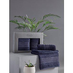 "Комплект из 2-х полотенец бамбук ""KARNA ARMOND"" (50*90; 70*140), синий"