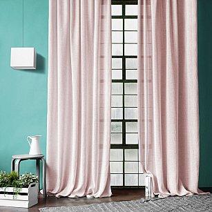 """Комплект штор """"Джуди"""", розовый"""