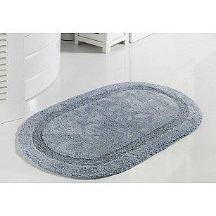 """Коврик для ванной кружевной """"MODALIN RACET"""", голубой, 60*100 см"""