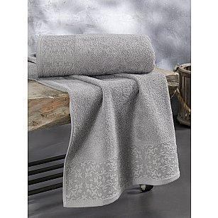 "Полотенце махровое ""KARNA MELEN"", серый"