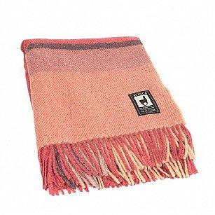 Плед шерстяной INCALPACA, розовый, 170*210 см-A