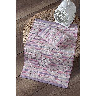 """Полотенце кухонное махровое """"KARNA MARIPOSA"""", розовый, 40*60 см"""