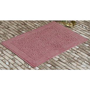 """Махровое полотенце для ног """"KARNA ESRA"""", розовый, 50*70 см"""