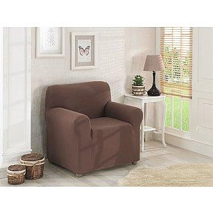"""Чехол для кресла """"KARNA NAPOLI"""", коричневый"""