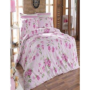 КПБ Cotton Life Roselinda (70*70/2 шт), розовый ( 1.5 спальный)