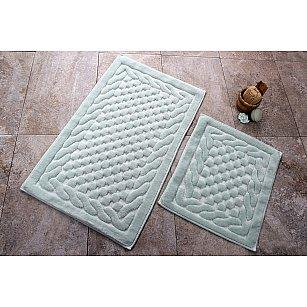 Набор ковриков для ванной DO&CO BAMBI (50*60; 60*100), мятный