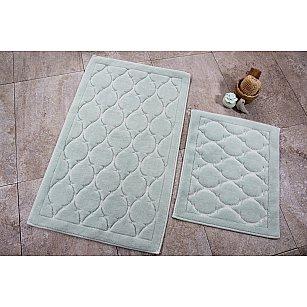 Набор ковриков для ванной DO&CO DANTE (50*60; 60*100), мятный